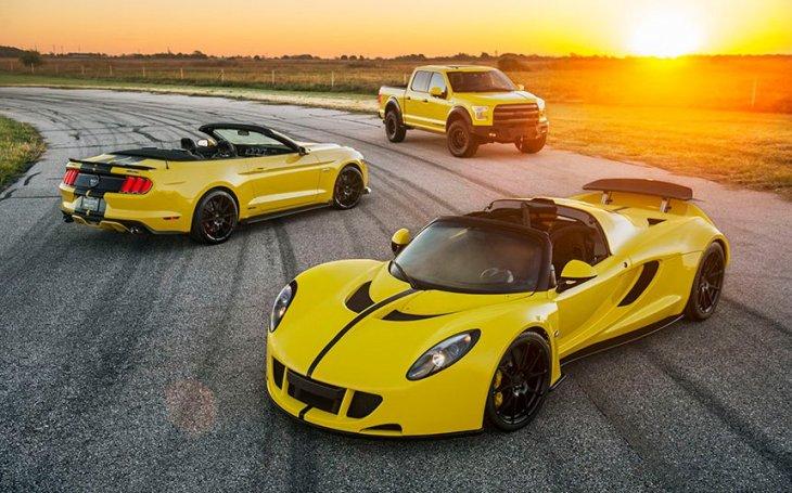 3 автомобиля от Hennessey Performance Engineering