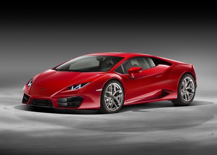 Новый заднеприводный Lamborghini Huracan LP 580-2