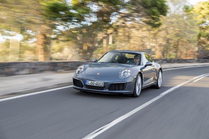 Галерея: Новый PORSCHE 911 кабриолет и купе