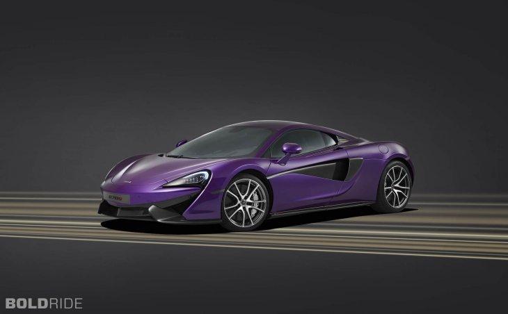 Фотогалерея: McLaren 570S купе