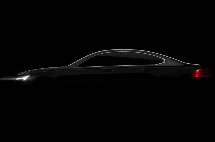 Volvo S90 дебютирует в 2016 на автошоу в Детройте