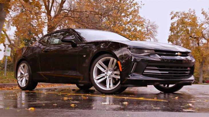 Галерея: модернизированная Chevrolet Camaro 2016