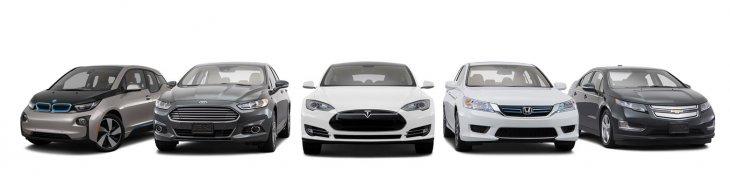Форд потратит $4,5 Млрд на создание электромобилей