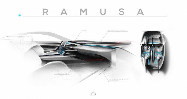 Концепт-кар Ramusa. Фотогалерея
