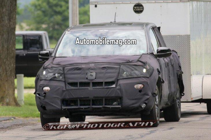 Honda Ridgeline подразнила автолюбителей перед автошоу в Детройте