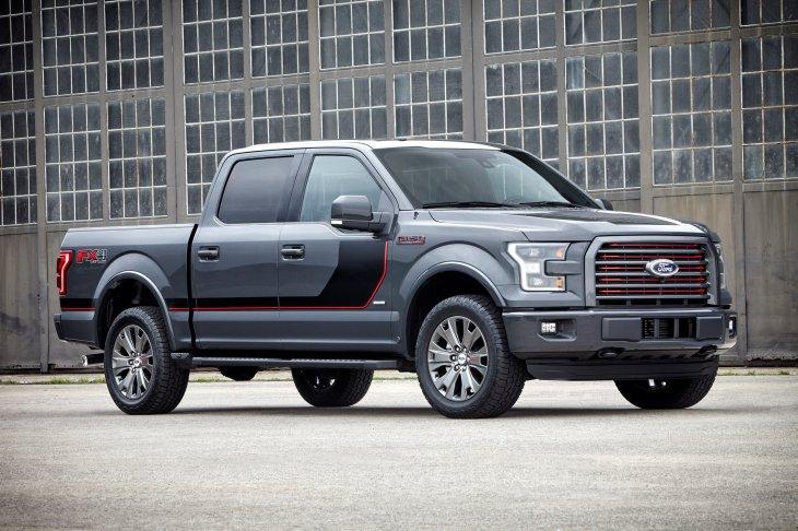 Фотогалерея: Ford F-150
