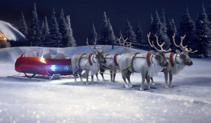 Мерседес представила новые модели как раз к Рождеству