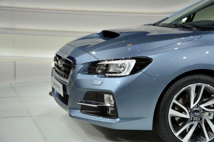 Субару покажет XV Hybrid STI Concept и Levorg в Токио