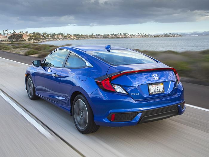 Honda выпустит новое поколение Civic Coupe