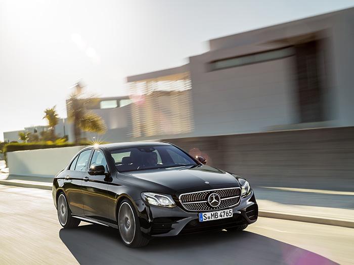 Mercedes-AMG тестирует универсал E63