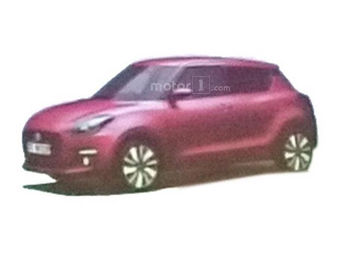 Suzuki Swift нового поколения было рассекречено