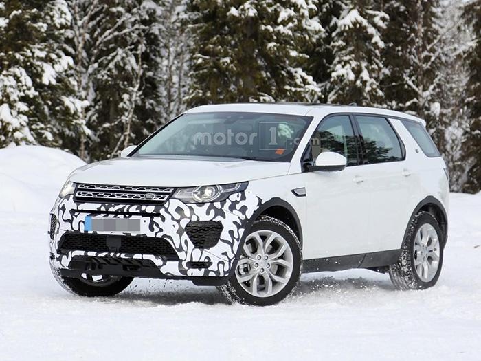 Land Rover создает обновленный, более мощный вариант Discovery Sport