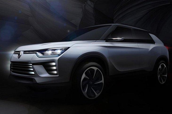 Новый концепт внедорожника SsangYong SIV-2 представлен на Женевском автосалоне