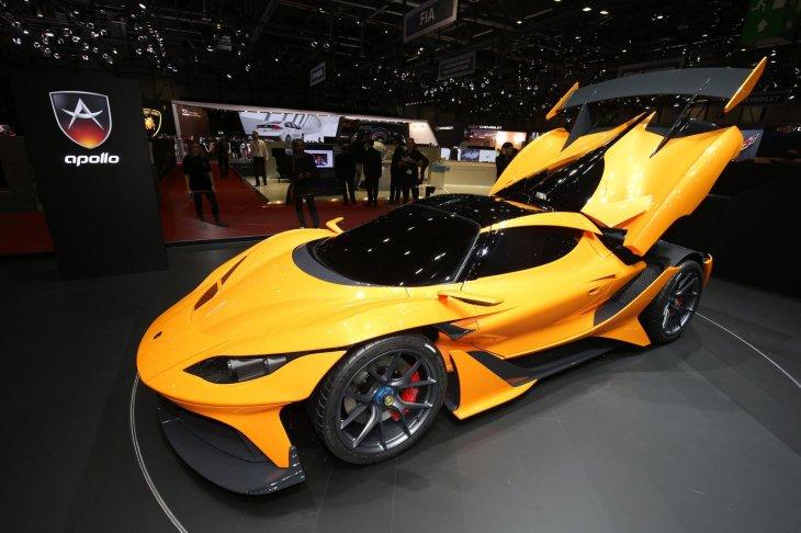 Галерея: самые экстремальные суперкары  2016 года на Женевском автосалоне