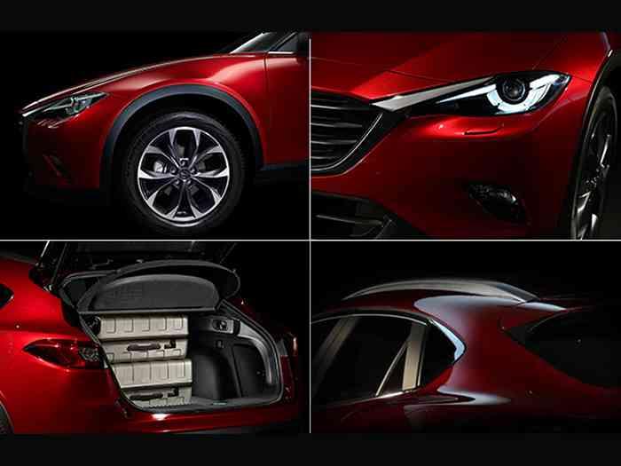 Первые фото Mazda CX-4