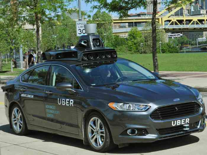 Uber начал тесты автономного автомобиля