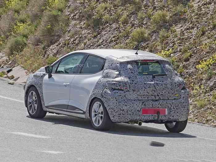 Renault готовит обновление Clio