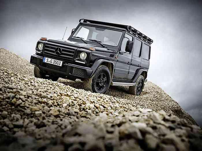 Mercedes-Benz возобновил производство G-Class Professional