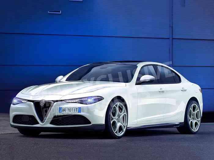 Alfa Romeo готовит конкурента «пятерке» BMW