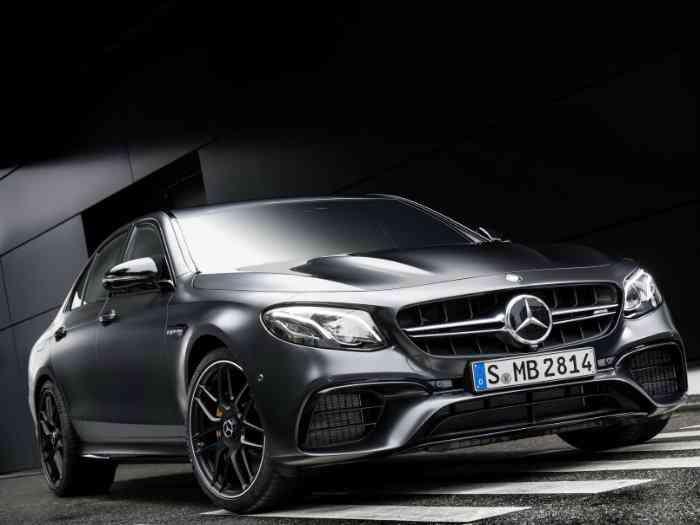 Mercedes-Benz презентовал самый мощный E-класс