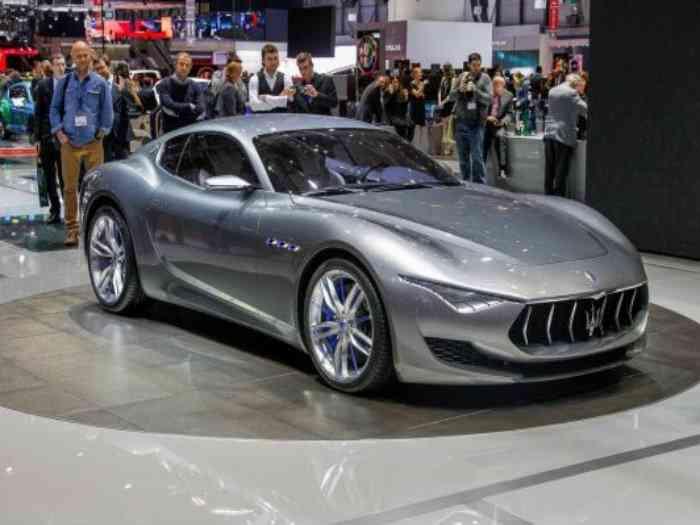 Maserati выпустит электрический суперкар Alfieri