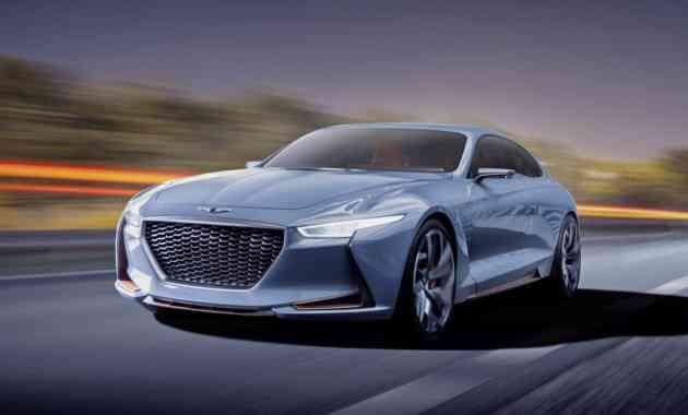 Седан Genesis G70 окажется быстрее Kia Stinger