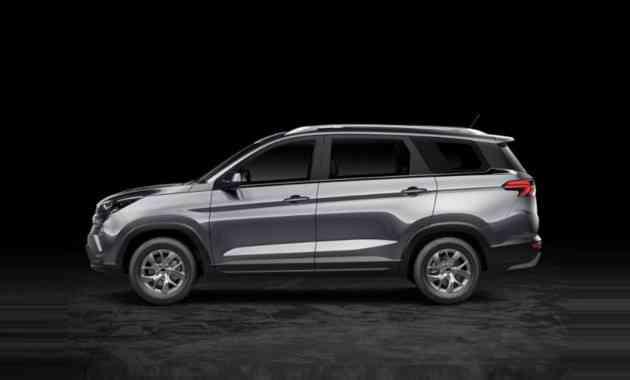 Бюджетная марка GM и SAIC тестирует семиместный кросс. Первые фото