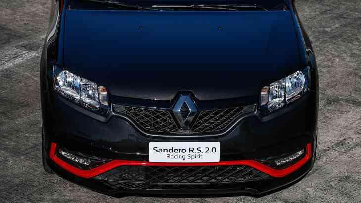 Renault представила ограниченную серию «заряженного» Sandero R.S.