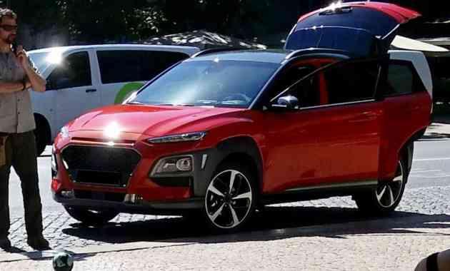 Компактный кроссовер Hyundai Kona показался на новых фото