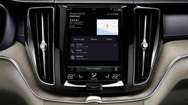 Volvo и Google объединят усилия в работе над новым поколением автомобилей