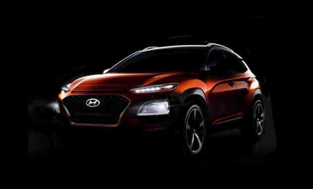 Кроссовер Hyundai Kona: официальные изображения, видео и дата премьеры