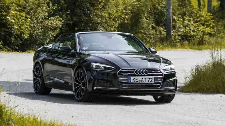 Кабриолет Audi A5 получил прибавку к мощности