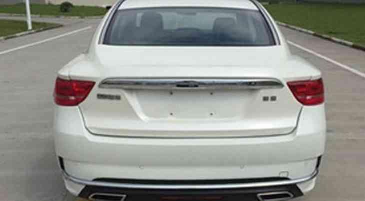 Geely готовит к премьере обновлённый седан Emgrand GT