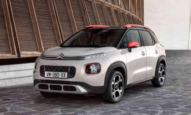 В России будут продавать новый «паркетник» Citroen