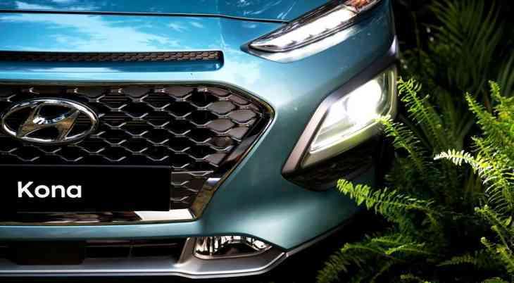 Компактный кроссовер Hyundai Kona представлен официально
