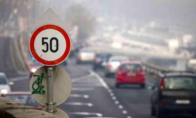 На десяти магистралях в Подмосковье снизили скоростной лимит