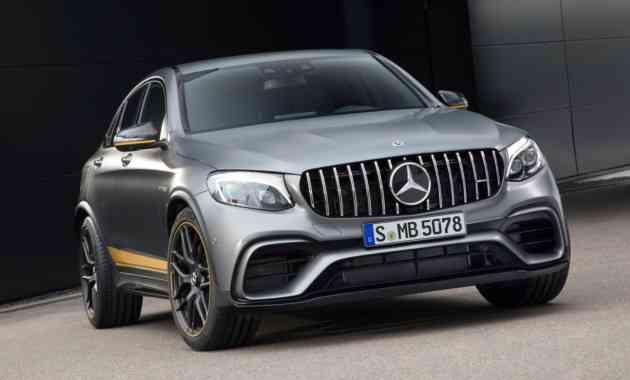 Известны цены на самые мощные кроссы Mercedes-AMG GLC