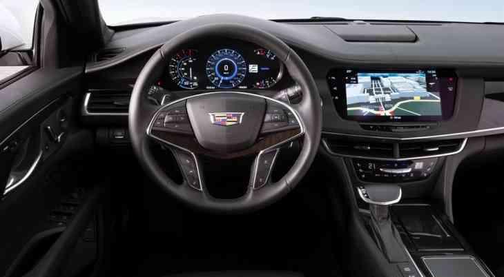 Седан Cadillac CT6 могут обновить в стиле концепта Escala