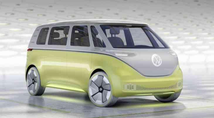 В линейке Volkswagen появится новый минивэн