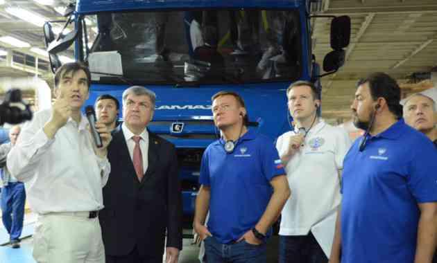 Разработки КАМАЗа в сфере беспилотного транспорта оценили в Росавтодоре