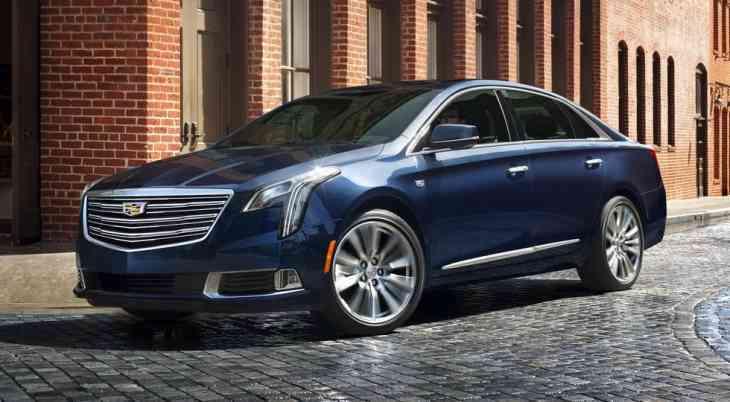 Cadillac представил рестайлинговый седан XTS