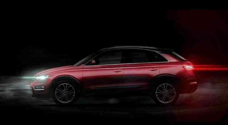 Китайская марка Zotye обновила «клон» Audi Q3