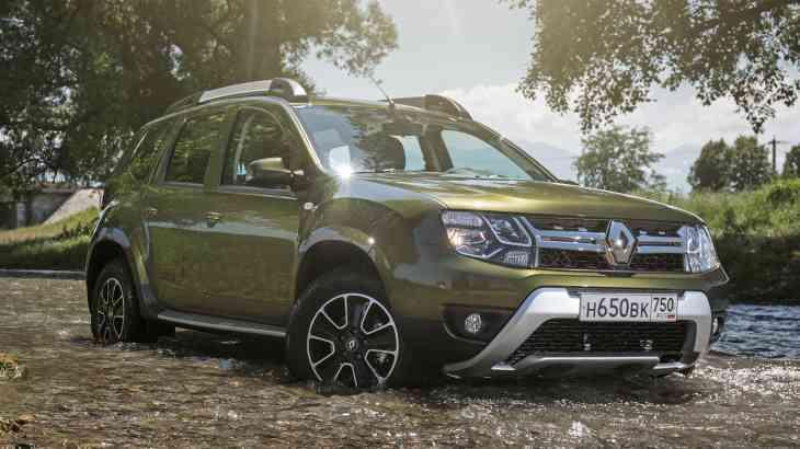 Renault отправил Дастеры российской сборки на Ближний Восток