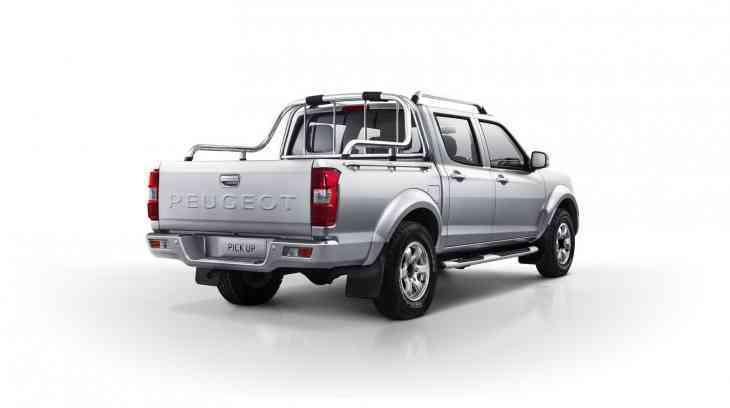 Peugeot представил пикап