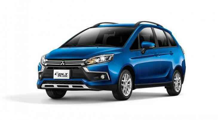 Ещё одна модель Mitsubishi примерила «икс-фейс»
