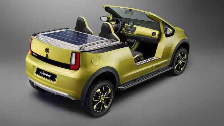 Появились подробности и новые фото электромобиля Skoda Element
