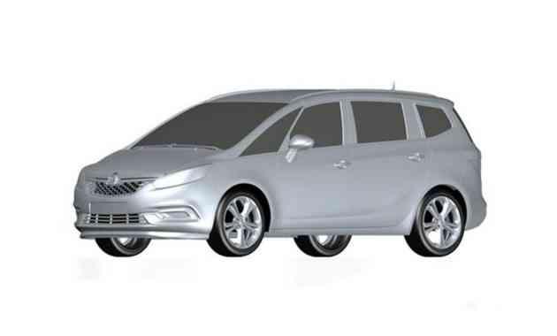 В Сети раскрыли дизайн компактвэна Buick