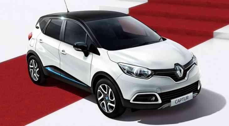 У Renault Captur появилась лимитированная версия