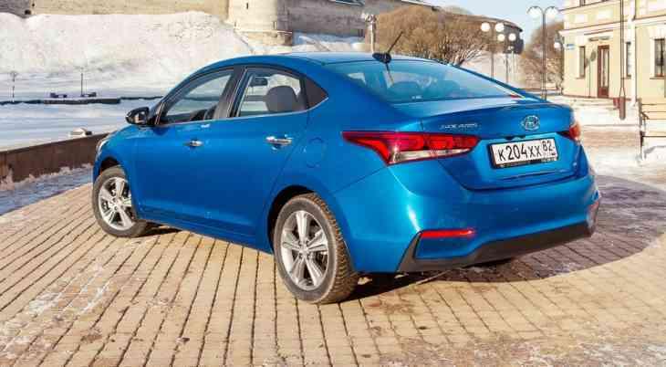 В России продано 20 000 седанов Solaris нового поколения