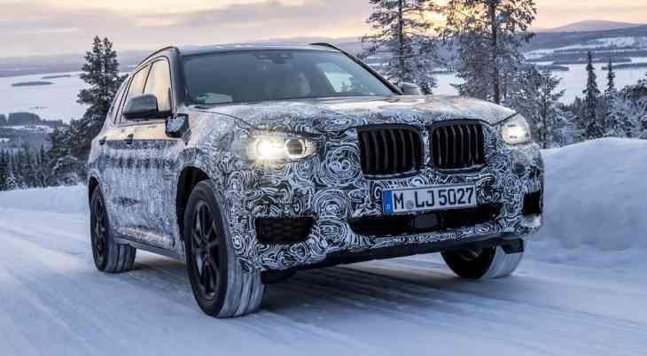 BMW X3 нового поколения: премьера уже на следующей неделе